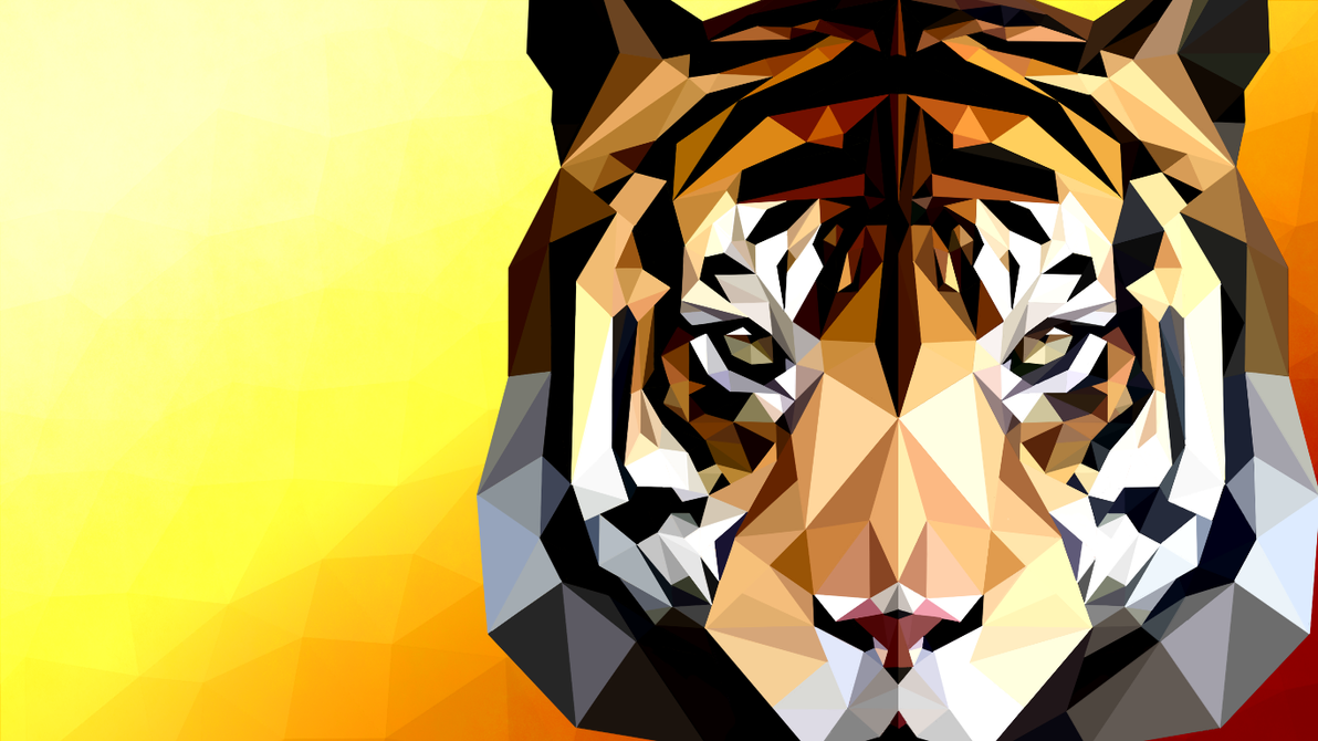 Low-poly art, first attempt by TheSevenDemon
