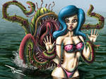Betty and the Tenticle Monster