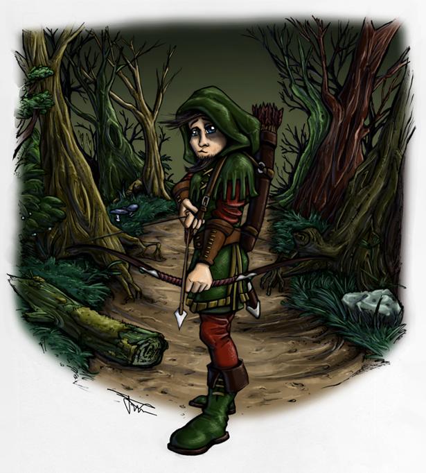 Robin Hood by MirrorwoodComics