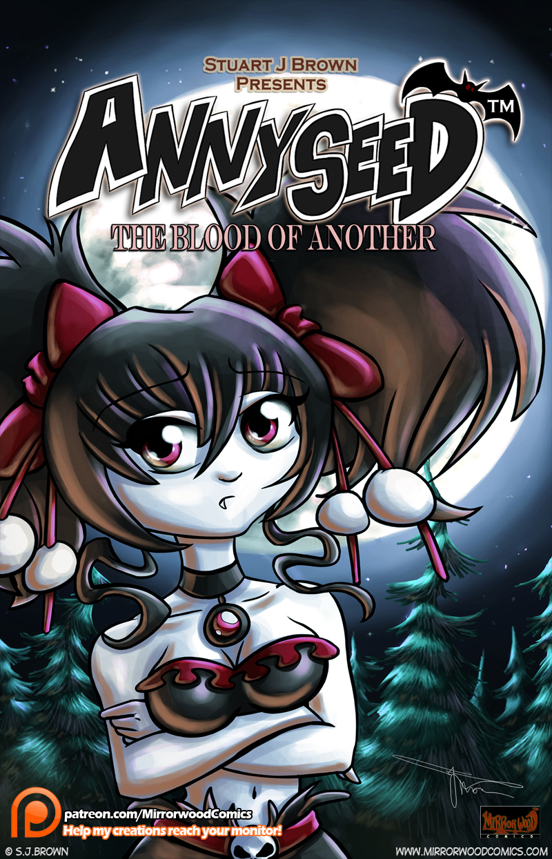 Annyseed Front Cover Re-Do by MirrorwoodComics