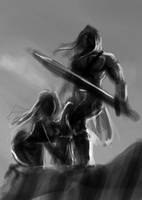 Sketch of the Day - Conan the Cimmerian by MirrorwoodComics