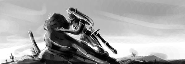 Desert Elf by MirrorwoodComics
