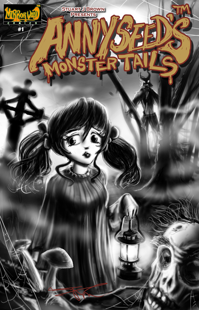AMT Issue1 Cover A by MirrorwoodComics