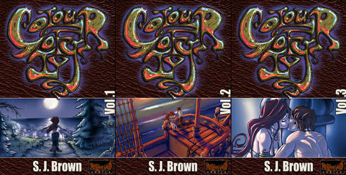 Colour of Ivy Covers 1-3