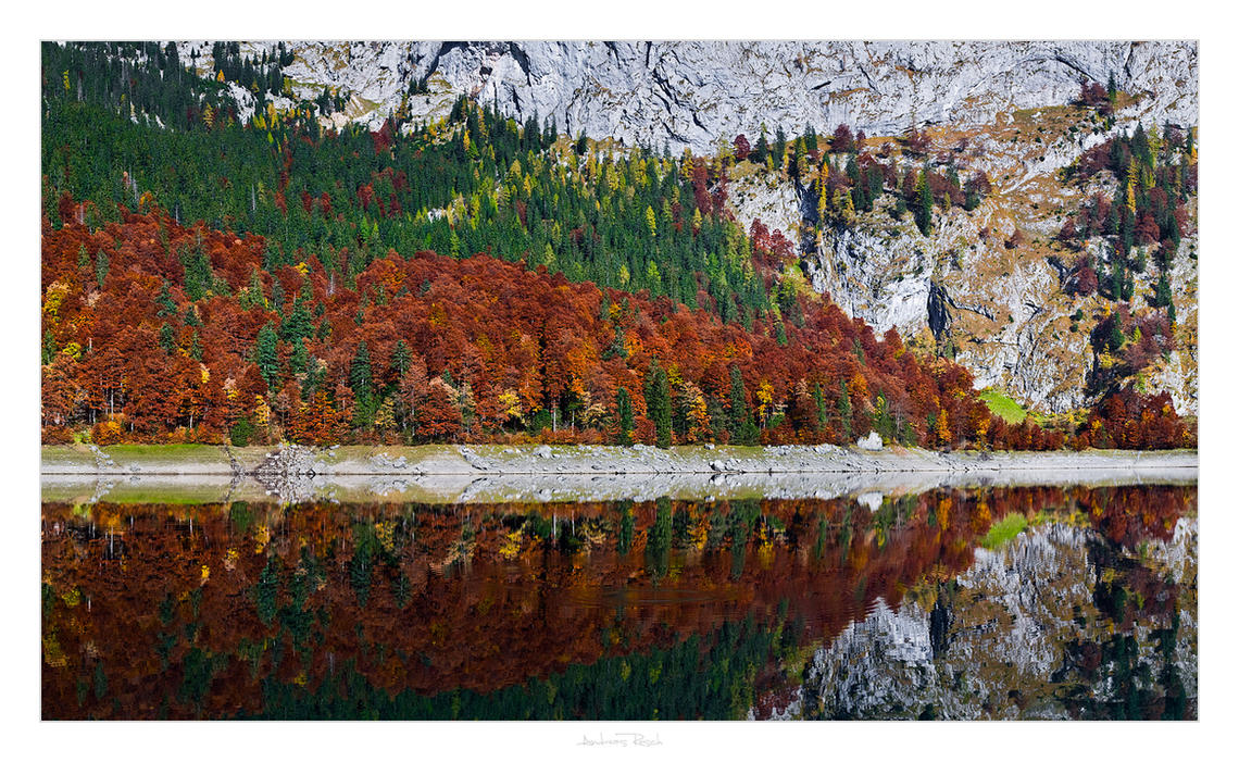 Autumn at the Gosausee by AndreasResch