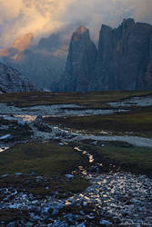Tre Cime Evening by AndreasResch