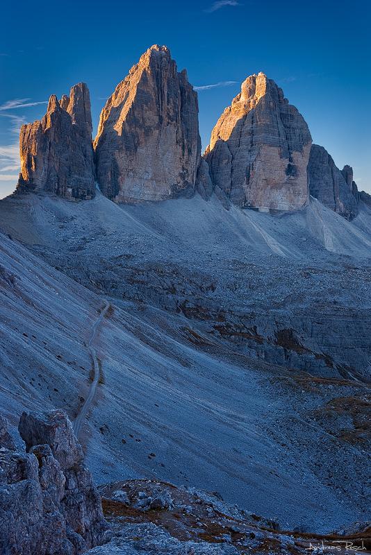 Tre Cime di Lavaredo - Path by AndreasResch