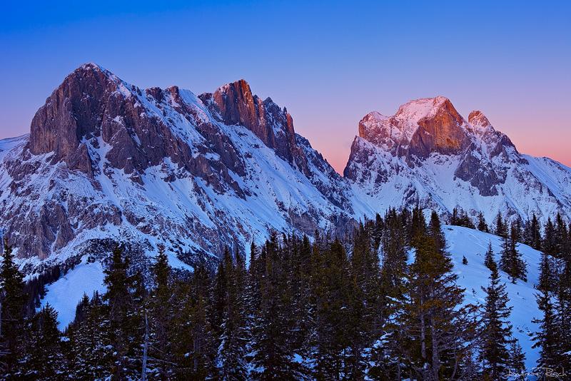 Winter Peaks by AndreasResch
