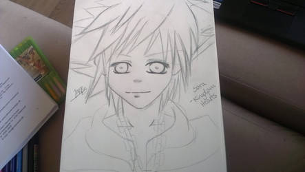 Sora - Kingdom Hearts Sketch