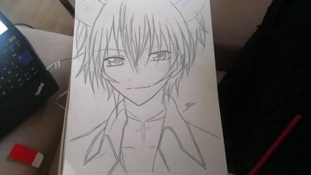 Shugo Chara - Ikuto Tsukiyomi Sketch by ArtistIchigo