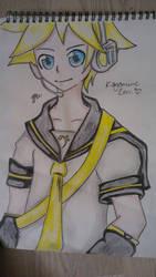 Vocaloid - Kagamine Len by ArtistIchigo