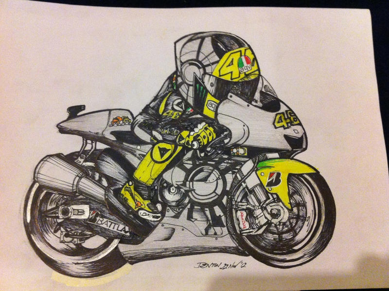 Rossi #46 by Virtual-XIII