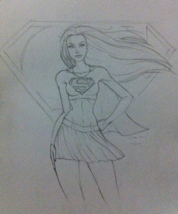 Superwoman WiP by Virtual-XIII