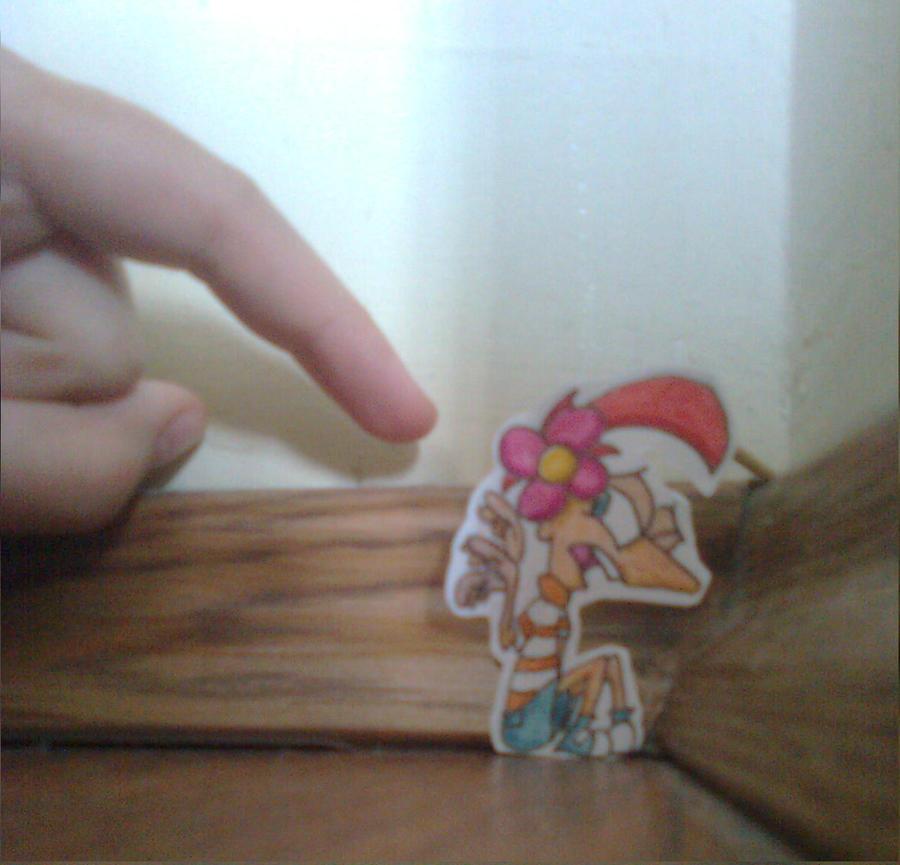 go away! by brigostre