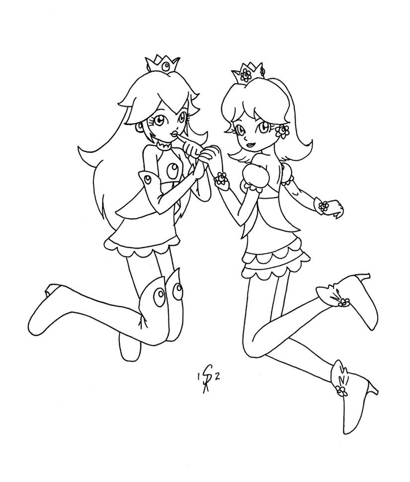 daisy mario coloring pages - photo#21