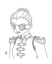 Steampunk Submarine Captain (Request) by gingersketches