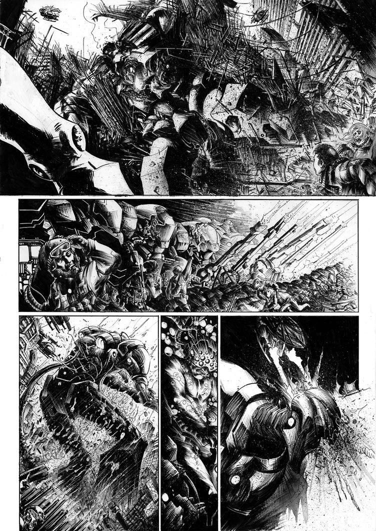 Giganti D'acciaio- test page 1 by CeciliaLoValvo