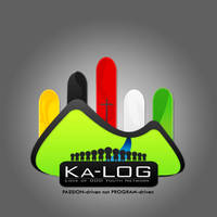 KALOG logo design gray by JhadCreatives