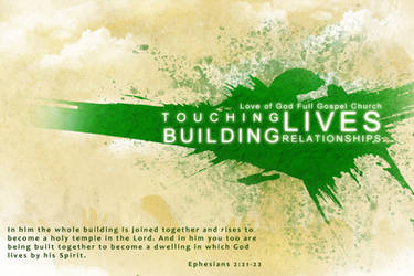 Building relationship changing lives by JhadCreatives