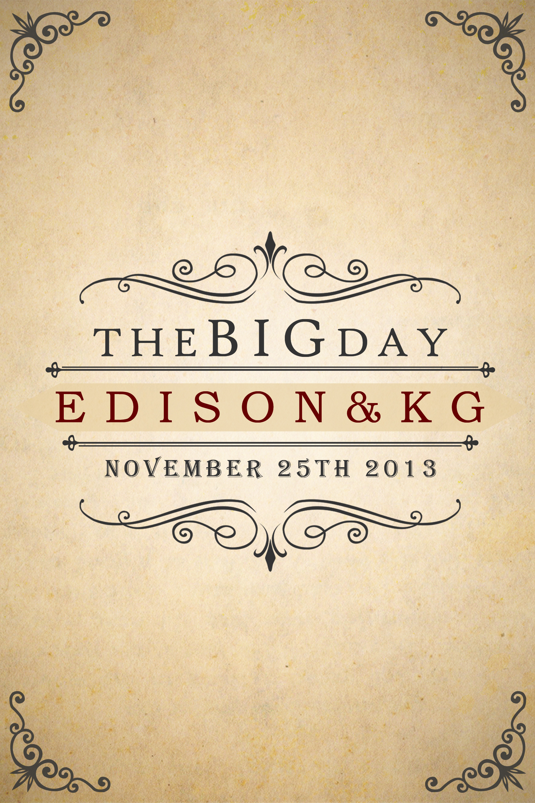Edison and Kg Poster by JhadCreatives