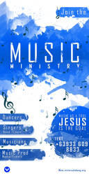 Music Ministry 3 by JhadCreatives