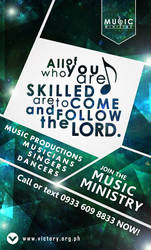 Music Ministry Last Issue for 2013 by JhadCreatives