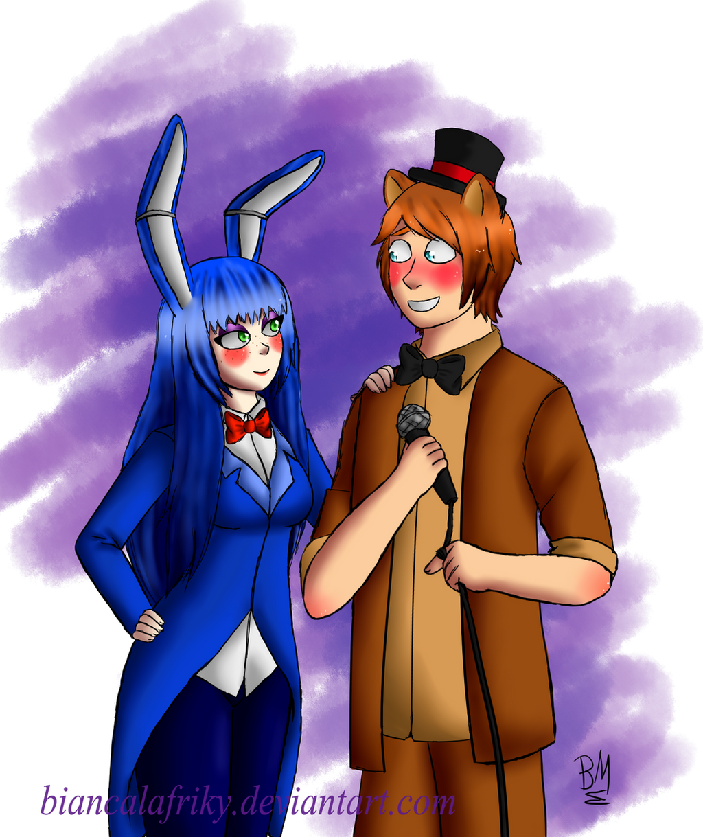 Fnaf bonbon x toy freddy by biancalafriky on deviantart