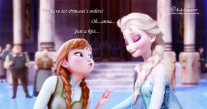 Just a kiss please~Elsanna