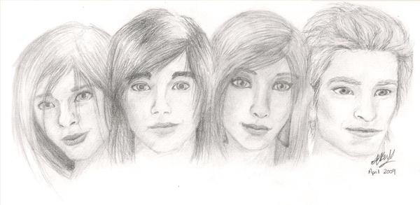 -Hidden Beneath Portraits- by MillieBee