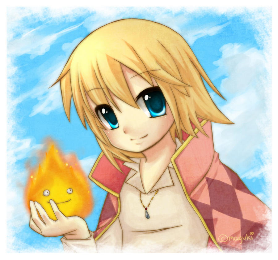 Howl And Calcifer By Mayukichan On DeviantART