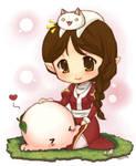 Ragnarok Online- Pet Rice Cake