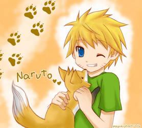 naruto- my little kitsune by mayukichan