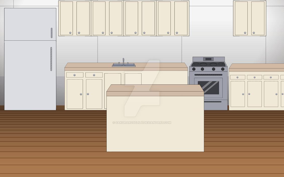 Kise-Ronpa: Kitchen BG by SakuraRoseLily
