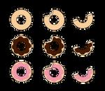 :~ Kisekae[FOOD]: Donuts ~: