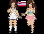 Kise-Challenge: International Magi Girls (Hawaii)