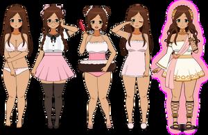 {Magi!Gods} Eleanor's Wardrobe by SakuraRoseLily