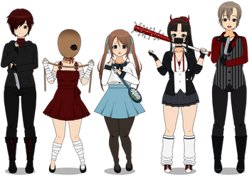 :~ Welcome To Murder Lane ~: by SakuraRoseLily