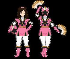 :~ Super Sentai Sakura! ~: by SakuraRoseLily