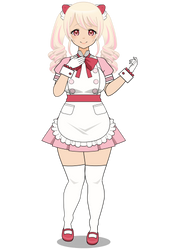 :~ Sweeter than Cream {Alcremie Gijinka} ~: by SakuraRoseLily