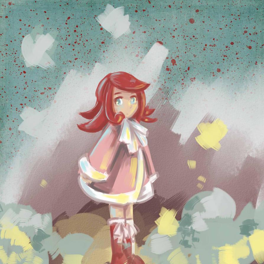 Frostbite Character sketch - Arte by miririri