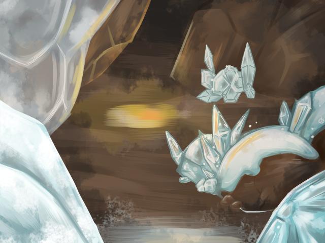 Map 1 - Snow Cave by miririri