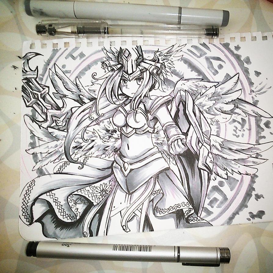 Legendary Jona by miririri