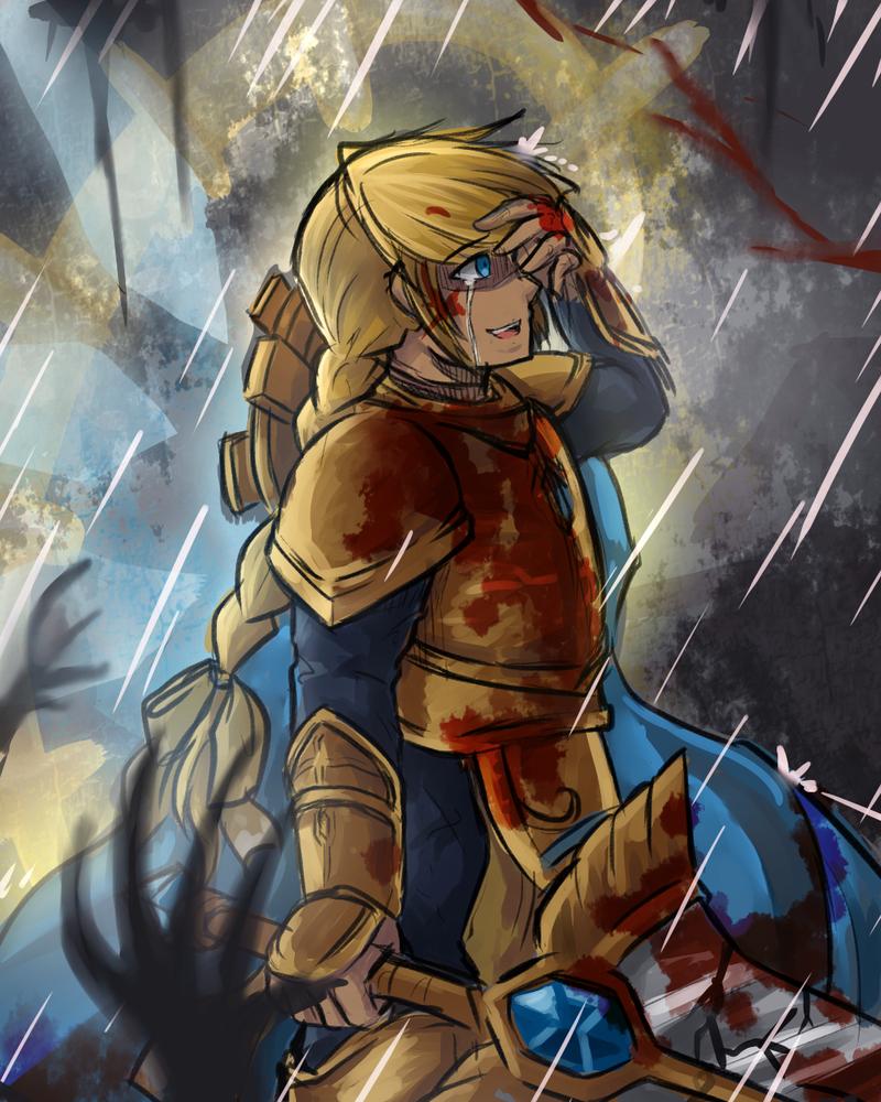 I'll destroy your world.... by miririri