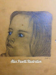 A baby  by ALICEpasotti