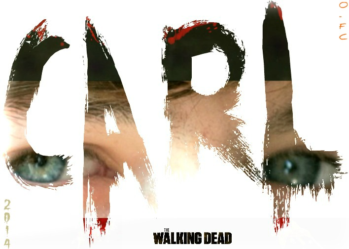 Carl Grimes Nameplate by Orange-FeatherCanary