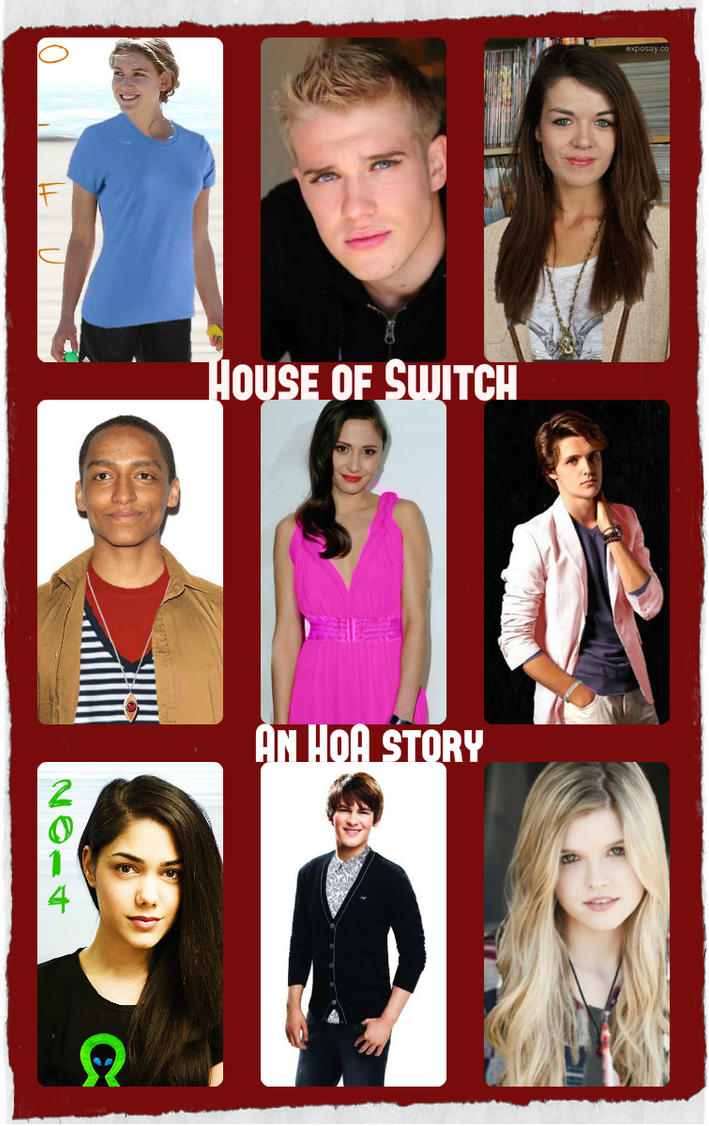 House of Switch:  An HoA Story Alternate Cover by Orange-FeatherCanary