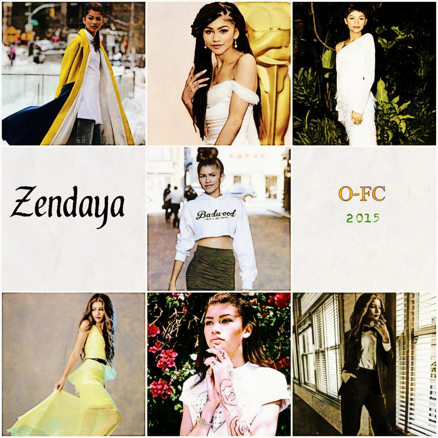 Zendaya Collage 2.0 by Orange-FeatherCanary