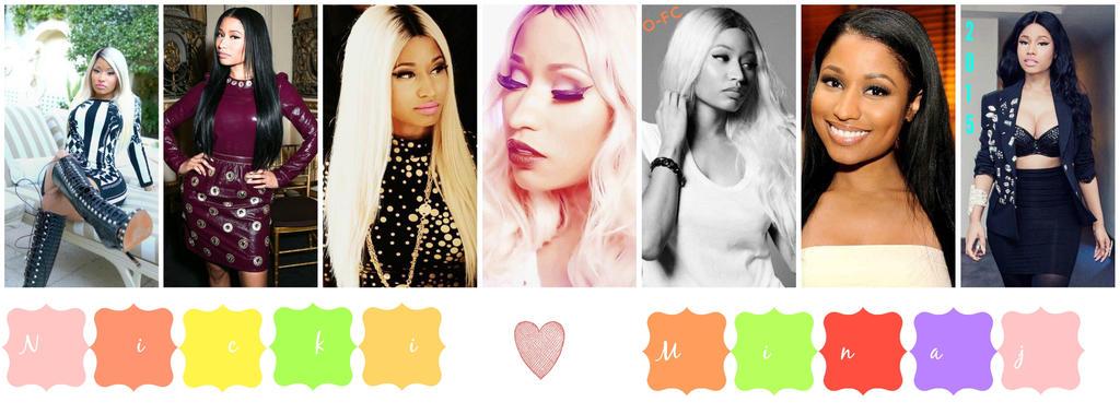 Nicki Minaj Collage by Orange-FeatherCanary