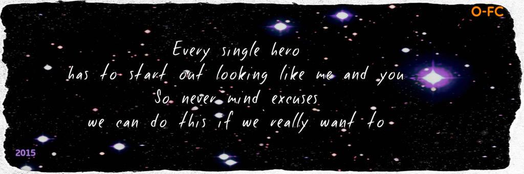 'Written in the Stars' Lyric Edit by Orange-FeatherCanary