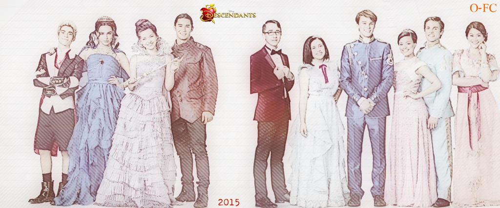 Descendants Cast by Orange-FeatherCanary